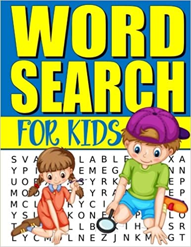 Word Search For Kids: 50 Easy Large Print Word Find Puzzles