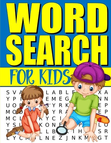 Word Search For Kids: 50 Easy Large Print Word Find Puzzles for Kids: Jumbo Word Search Puzzle Book (8.5