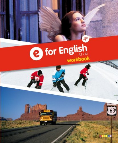 E for English 4e - Workbook -version papier