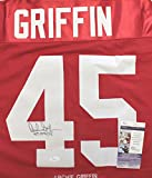 Archie Griffin Ohio State Buckeyes Signed Autographed Custom Red Stat #45 Jersey JSA COA