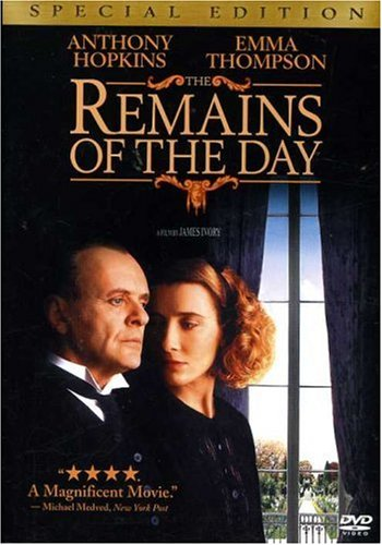 Amazon.com: The Remains of the Day (Special Edition): Anthony ... Amazon.com350 × 500Search by image Amazon.com: The Remains of the Day (Special Edition): Anthony Hopkins, Emma Thompson, Christopher Reeve, Hugh Grant, Lena Headey, Patrick Godfrey, ...