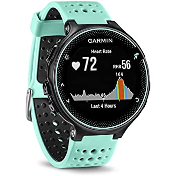 Garmin 010-03717-49 Forerunner 235 with Wrist Based Heart Rate Monitoring, Forest Blue/Black