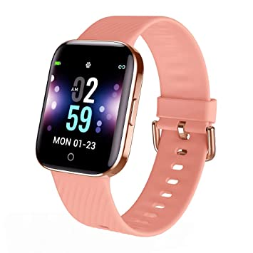 Smartwatch - Reloj Inteligente Mujer Impermeable con Cronómetro ...