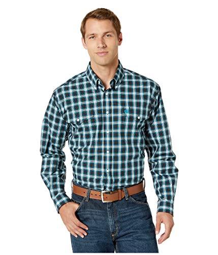 - Cinch Men's Long Sleeve Plaid MTW1107113 Black X-Large