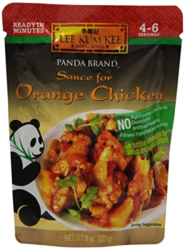 - Lee Kum Kee Sauce for Orange Chicken, 8-Ounce Pouches (Pack of 4)