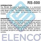 Elenco Resistance Substitution Box   Resistance