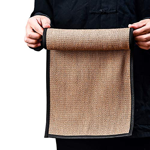 Camino de Mesa YXX te para Comedor y mesas de cafe - Mantel Impermeable Retro Tejido de Hierba - Largo 21.6/43.3 Inch (Size : 27×110cm(10.6×43.3))