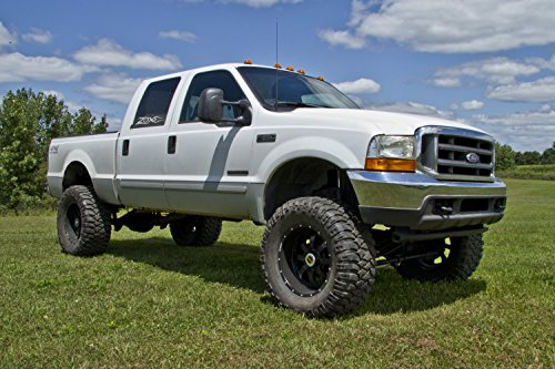 Lifted Ford F250 >> Zone Offroad Ford F250 F350 6 Inch Full Suspension Lift Kit Zone Offroad Top Rated With Black Nitro Shocks