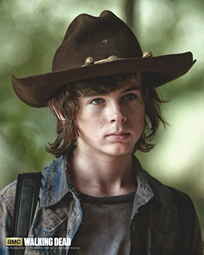 The Walking Dead Chandler Riggs as Carl Grimes Officially Licensed 8x10 (Chandler Photograph)