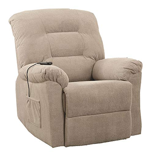 Power Lift Recliner Taupe