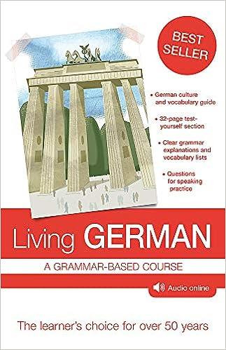 Amazon com: Living German: A Grammar-Based Course
