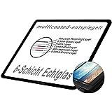 LARMOR LCD Displayschutz Glas für Nikon D7100/D7200 (die vierte G) - LCD-Echtglas-Protektor für Nikon D7100/D7200 - 6-Schicht-Prinzip plus Schutzrahmen