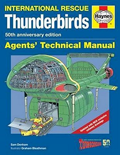 Anniversary Toys - Thunderbirds Agents' Technical Manual - 50th Anniversary Edition: International Rescue