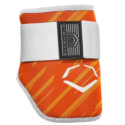EvoShield MLB Batters Speed Stripe Elbow Guard, Orange, Adult Elbow Guard