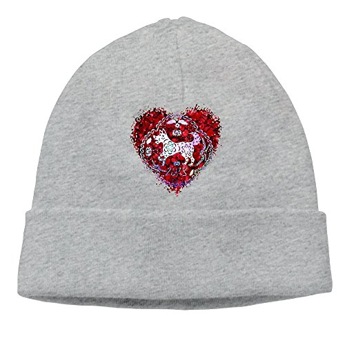 Baby Rib Brief (2018 Year Of The Dog Rose Heart Unisex Fashion Beanie Knit Hat Cap Colorkey)