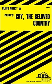 Book CliffsNotes on Paton's Cry, the Beloved Country by Richard O. Peterson (1999-11-01)