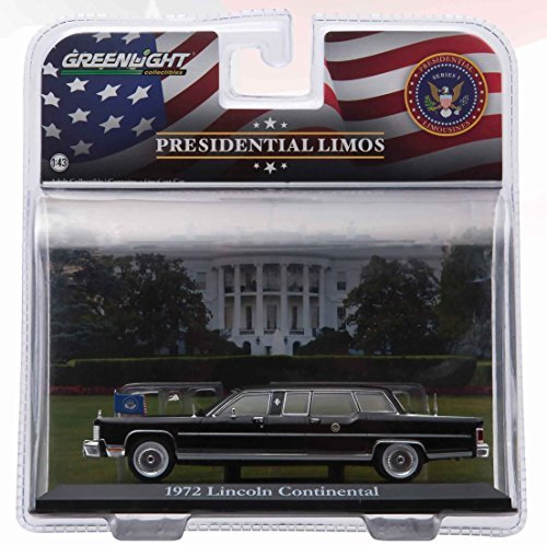 Greenlight 1:43 Presidential Limos 1972 Lincoln Continental Gerald R. ()
