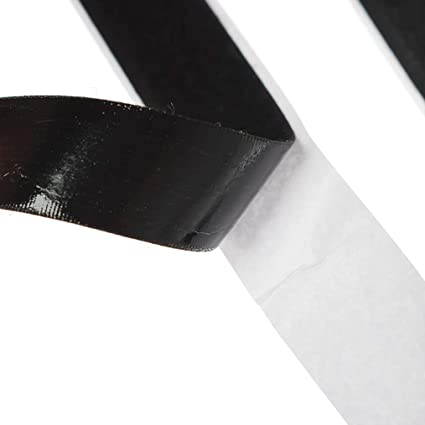25m x 20mm Sticky Back Hook and Loop Self Adhesive Stick On Fastener Tape