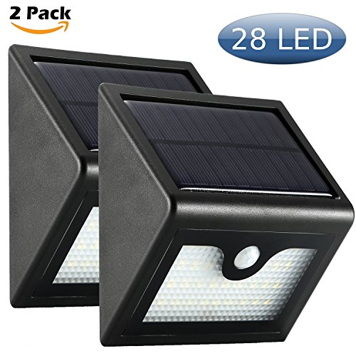 Wall Mounted Motion Detector Solar Led Lamp - 8