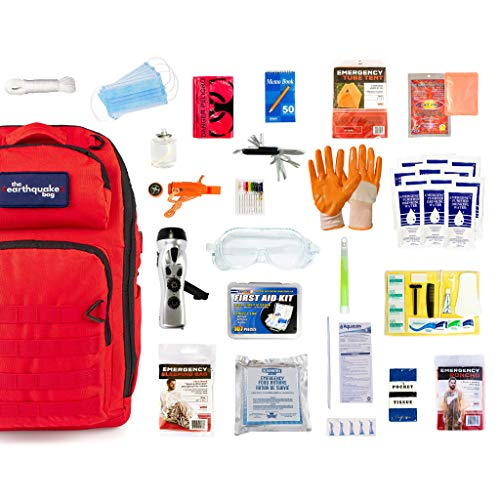 Complete emergency kit for disaster situations