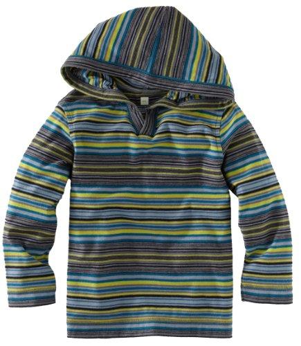 Tea Collection Little Boys' Peli Stripe Hoodie