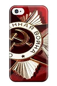 Iphone 4/4s Case Bumper Tpu Skin Cover For Russian Accessories