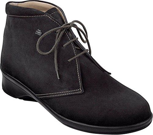 Finn Comfort - Zapatos de Cordones de cuero Mujer negro