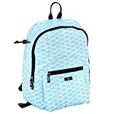SCOUT Big Draw Backpack School Bag, Interior Laptop Sleeve, Padded & Adjustable Straps, Water Resistant, Zips Closed, Swimfan