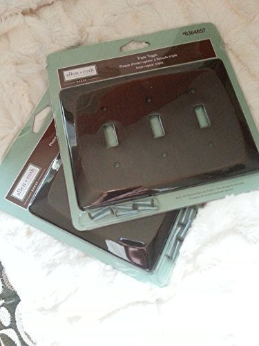 Triple Toggle Wall Plate (2 Pack) by allen + roth