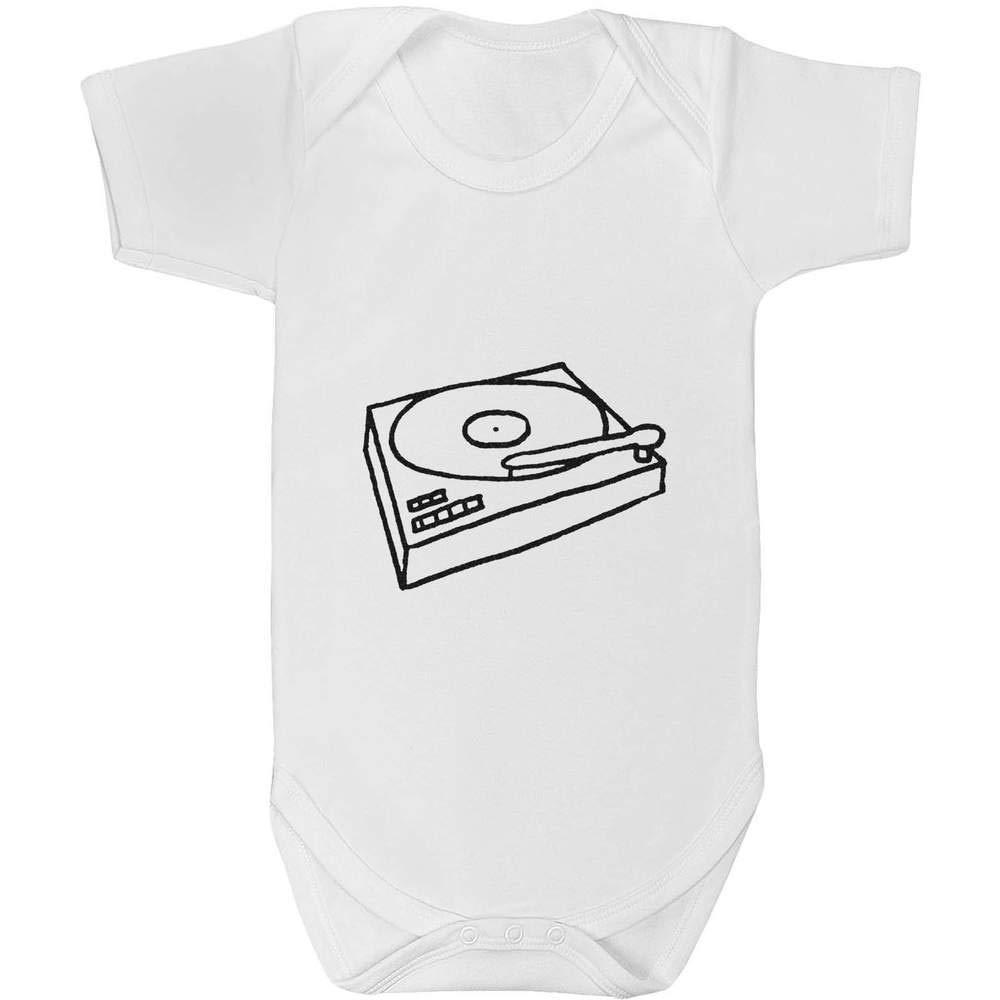 Azeeda 18-24 Meses Tocadiscos Body de Bebé Unisexo (GR00025287 ...