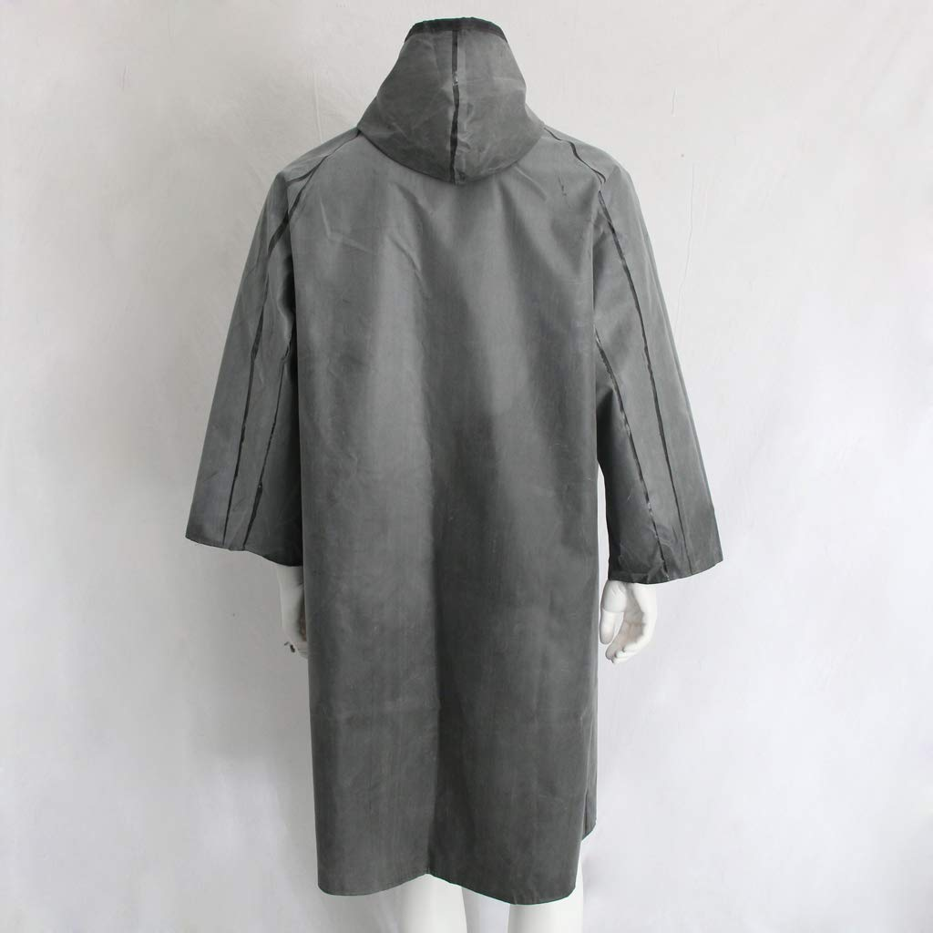 Baosity Rubber Raincoat Labor Protection Raincoat Thicken Canvas Poncho Cloth by Baosity (Image #8)