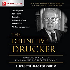 The Definitive Drucker Audiobook