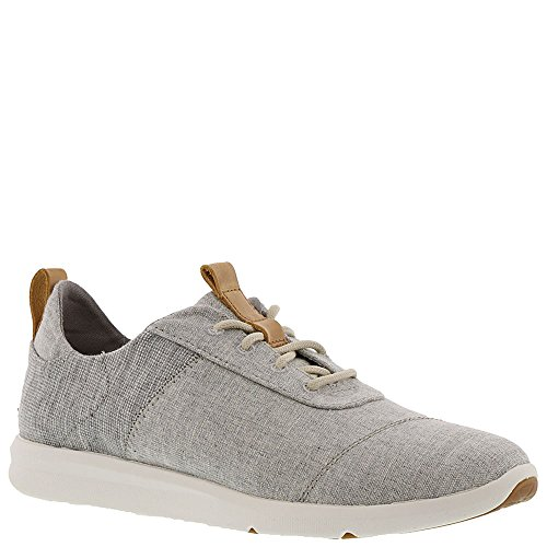 0076c889e95 Galleon - TOMS Women s The Cabrillo Sneaker Drizzle Grey Chambray Mix 6.5
