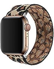 TopPerfekt Elastische band compatibel met Apple Watch, geschikt voor iwatch Series SE/6/5/4/3/2/1 zachte elastische armband band