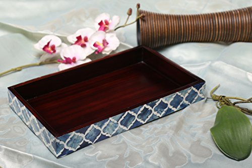Handicrafts home vassoio porta asciugamano per bagno contenitore