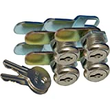 """Prime Products 18-3319 1-1/8"""" Keyed Camlock- Pack of 4"""