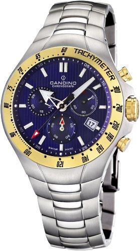Candino Sport Reloj para hombres Carcasa de Titanio: Candino: Amazon.es: Relojes