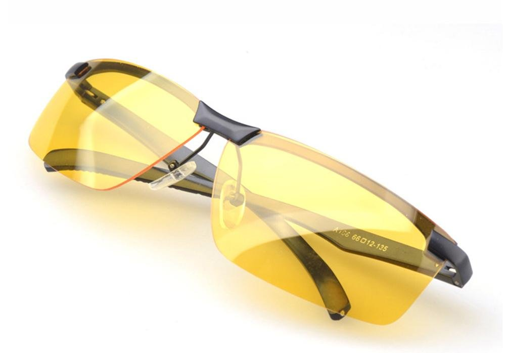 MNII Nuevos cristales polarizados de la visión nocturna Espejo de magnesio del magnesio Piernas Espejo de la visión nocturna que conduce el espejo- Aspecto de la manera, garantía de calidad