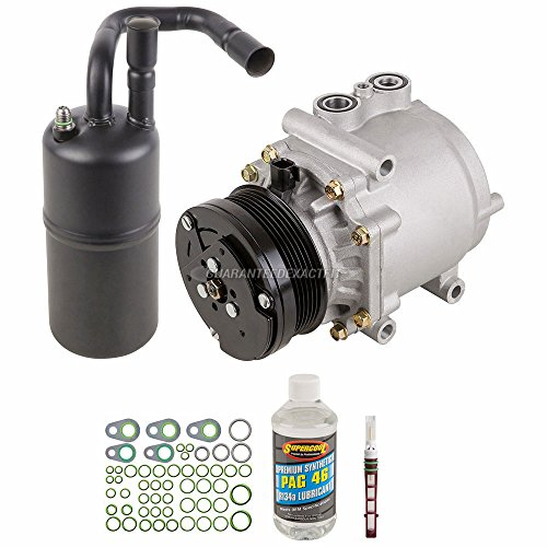 AC Compressor w/A/C Repair Kit For Lincoln Town Car 2004 2005 - BuyAutoParts 60-81451RK NEW