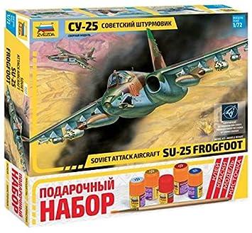ZVEZDA 7227 P SU-25 Grach - Frogfoot - Avión de Ataque ...