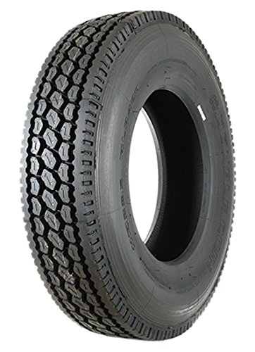Double Coin RLB400 Closed Shoulder Drive-Position Commercial Radial Truck Tire - 285/75R24.5 14 ply