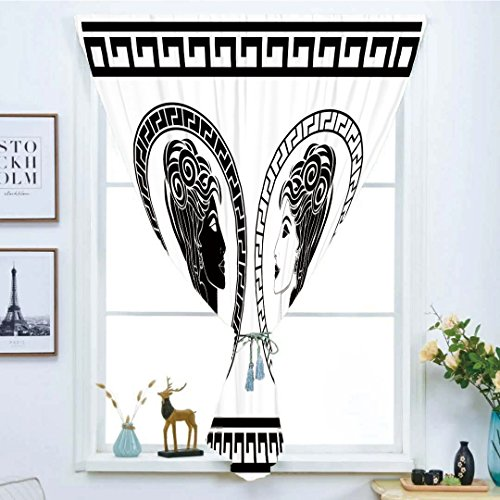 iPrint Blackout Window Curtain,Free Punching Magic Stickers Curtain,Toga