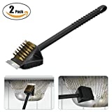 BBQ Grill Brush Cleaning with