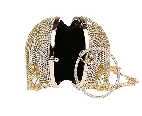 femme 1 Pochette Puluo pour Or Gold Ew7a1paq