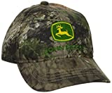 John Deere Big Boys' Trademark Baseball Cap, Mossy Oak Breakup/Country, One Size