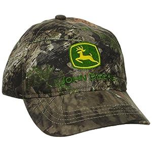 John Deere Boys' Trademark Mossy Oak Baseball Cap