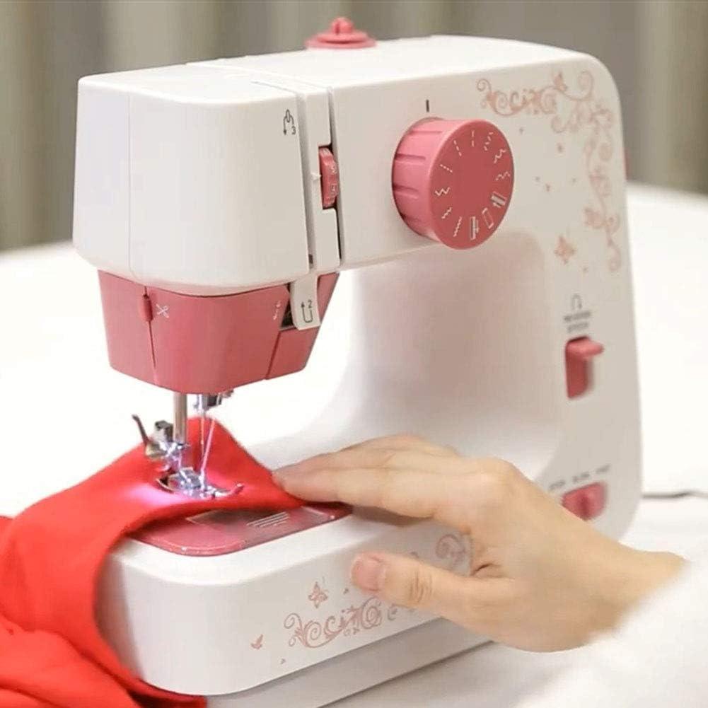 XXCC Mini Desktop Sewing Machine /à Coudre /électrodomestiques Appareil avec 12 Points de Suture Outils de Couture de p/édale pour d/ébutants Adultes 2 Vitesses Eclairage LED
