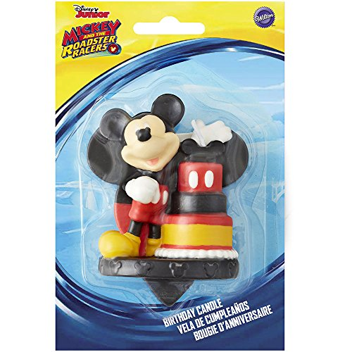 Wilton Mickey and The Roadster Racers Birthday Candle,