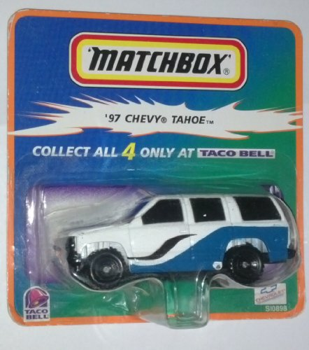 Matchbox Taco Bell '97 Chevy Tahoe 1:64 Scale Die-cast Vehicle (Matchbox Chevy Tahoe)