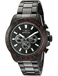 Invicta Mens 20341SYB Speedway Analog Display Swiss Quartz Black Watch